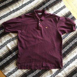 Brooks Brothers XL Polo Maroon Skater Supreme